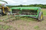 JD 450 21x7 grain drill w/ grass seed boxes, good disc, (nice)