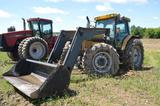 Challenger MT545 w/ Quicke A10 loader, 6,424 hrs, 4wd, 120HP, 32sp Dynashift trans, 2 remotes, LHRev
