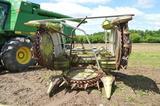 Claas RU450 Xtra corn head w/ new knives, good gathering wheels & auger, serial# 905102.0