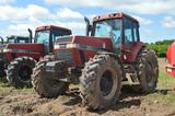 CIH 7230 w/ 11,349 hrs, 4wd, 18sp powershift, 4sp reverse, 3 remotes, front fenders & weights, 20.8R