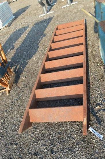 """heavy duty metal 102"""" ladder"""