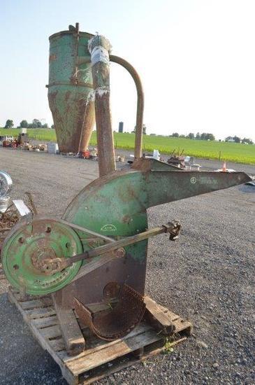 JD hammer mill w/ pto drive