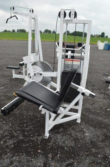 Cybex Eagle Fitness System Leg Extension machine