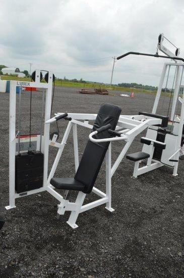 Cybex Eagle Fitness System Shoulder press