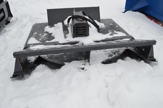 Wolverine heavy duty skid mount rotary mower