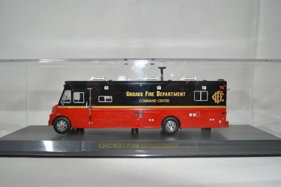 Chicago Fire Department command center, new in box