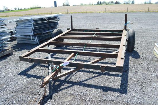 10'x7.5' trailer frame VIN#NYA411177 (registered)