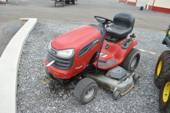 Craftsman DYS4500 riding mower w/ 346hrs, 54'' deck, gas