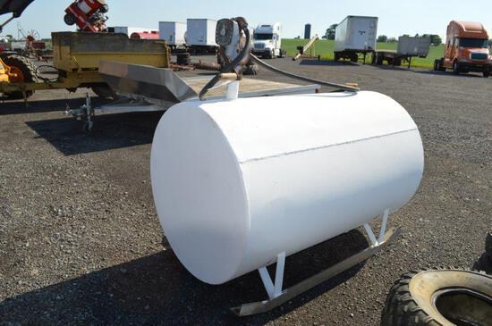 250 Gal fuel tank w/ hand pump