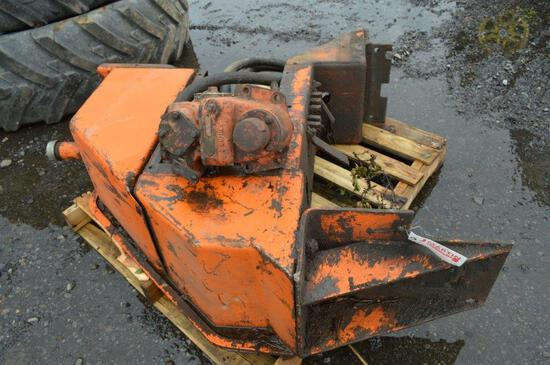 Hyd pump off dump truck, includes hyd tank