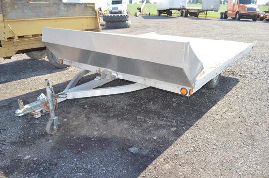 '08 Triton 2 snowmobile trailer, VIN# 4TCSS11058HX44913 (reg)