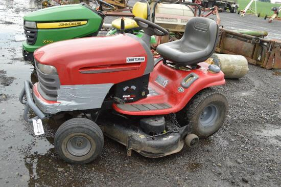 Craftsman Kohler Pro 20 V-Twin riding mower w/ 549hrs, 48'' deck