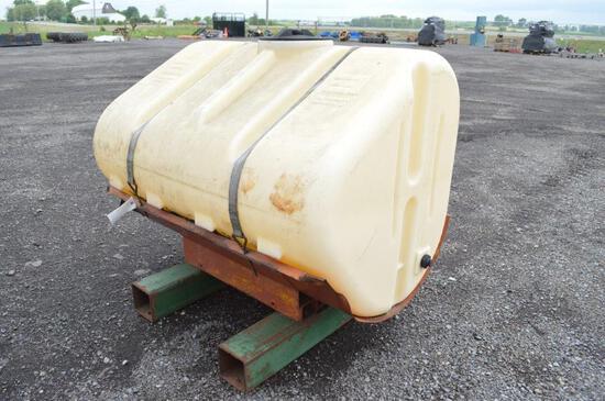 250 gal tank & cradle, tractor mount