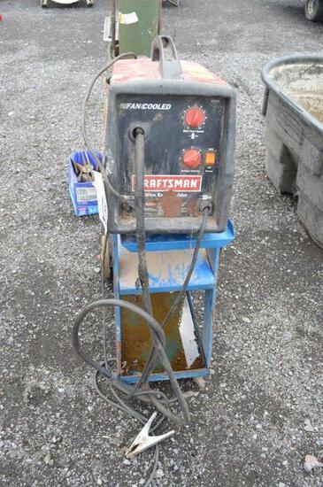 Craftsman fan cool wire welder