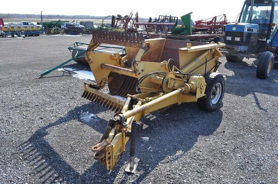 Degelman R5705 5' hyd rock picker