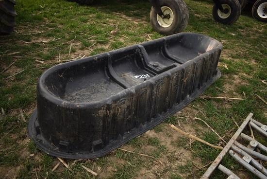 8' Poly feed trough