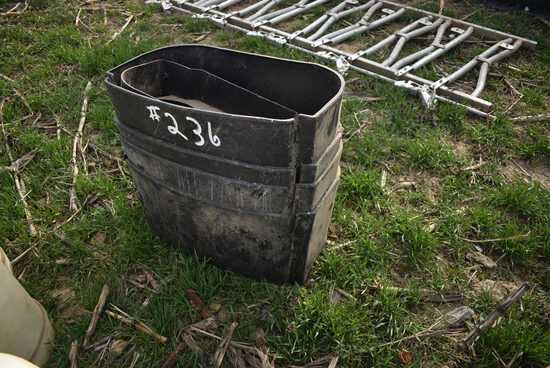 5- Calf pail holders