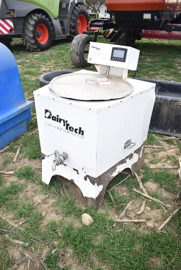Dairy tech 30gal milk pasturizer