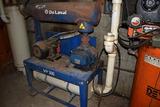 DeLaval VP300 vacuum pump w/ 10HP 3phase electric motor & drive