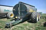 Husky 3600 gal liq manure spreader w/ 540pto, tandem axle, 28L-26 tires