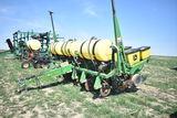 JD 1750 6 row corn planter w/ no-till, liq fert, ground drive, piston pump