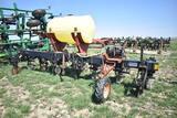 Yetter 4-63 6 row 30'' cultivator, liq fert, Demco ground grive, squeeze pump, 120gal tamk