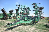 Glenceo FC3800 25' field cutivator, tandem axle