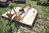 Woods Brushbull 84 84'' rotary mower, 540pto, 3pt