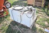 100gal pickup fuel tank w/ 12v pump