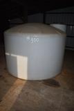 1500gal poly water tank