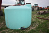 1500gal vertical round water tank
