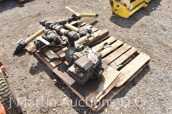 """Briggs and Stratton 5 HP 2"""" water/ fert pump"""