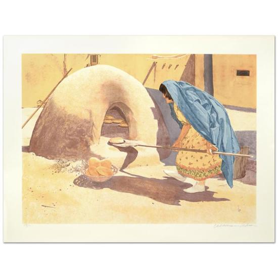 Baking Bread by Nelson, William
