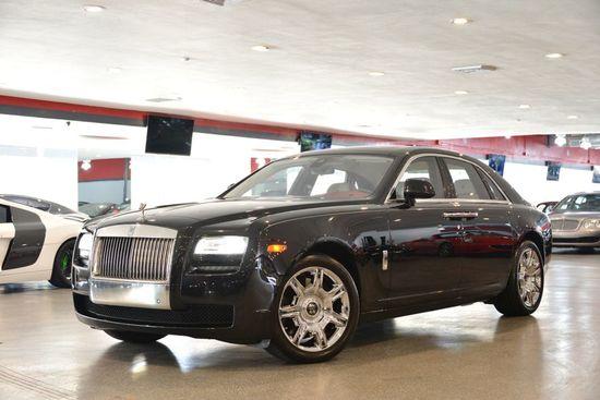 2013 Black Rolls-Royce Ghost Ghost Sedan