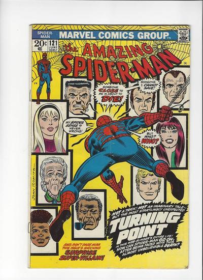 The Amazing Spider-Man Issue #121 by Marvel Comics