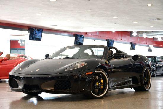 2006 Black Ferrari F430 Spider F1 Convertible