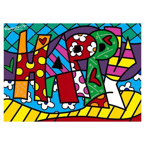 Happy Mini Word by Britto, Romero