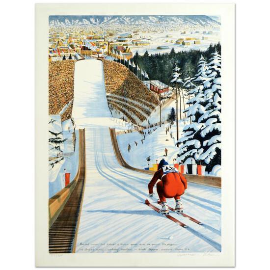 90-Meter Ski Jump by Nelson, William
