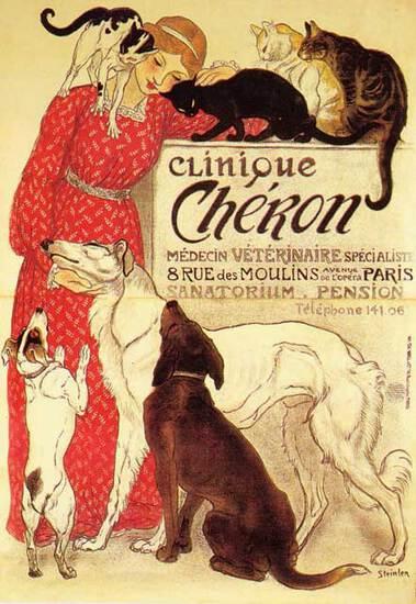 Theophile A Steinlen - Clinique Cheron