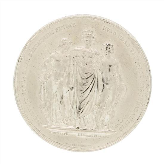 1872 Denmark Nordic Industrial and Art Fair Copenhagen Medal