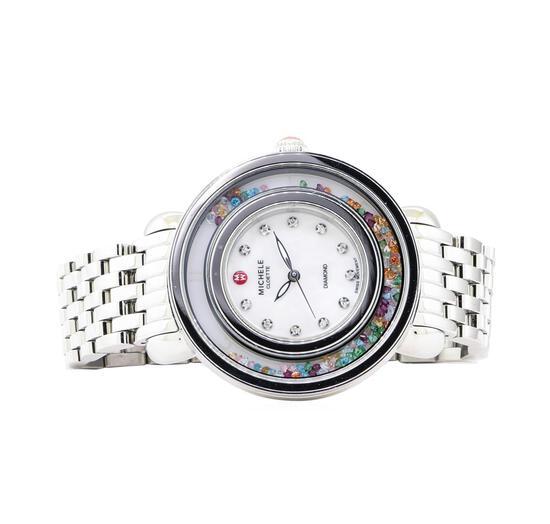Michele Cloette Lady's Wrist Watch - Stainless Steel