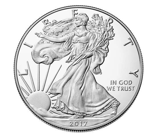 2017 American Silver Eagle Dollar Coin