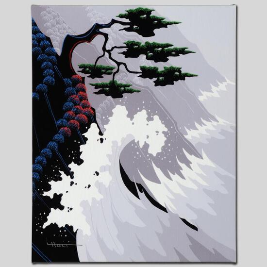 """""""Tsunami"""" Limited Edition Giclee on Canvas by Larissa Holt, Numbered and Signed."""