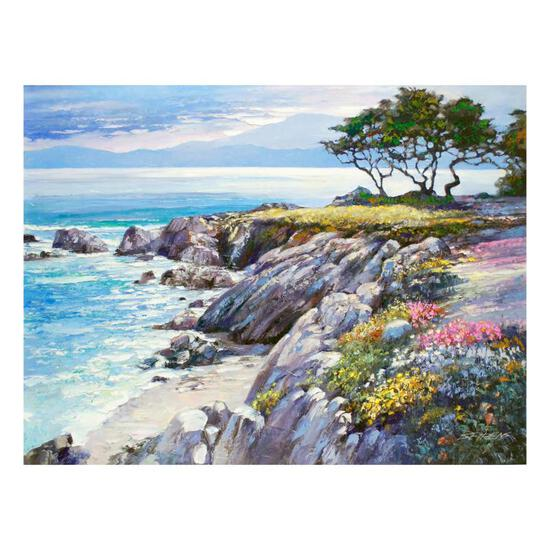 "Howard Behrens (1933-2014), ""Monterey Bay, After The Rain"" Limited Edition on Ca"