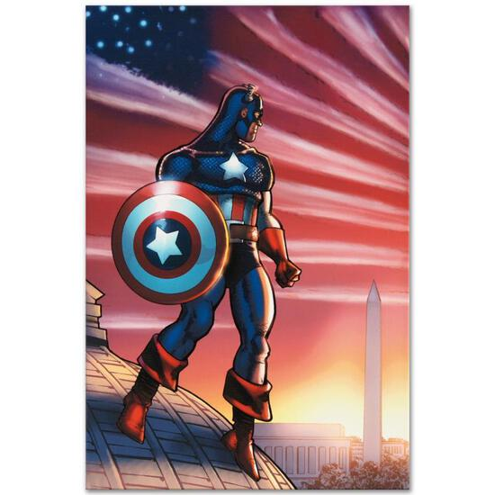 Captain America Theatre of War: America First! #1 by Marvel Comics