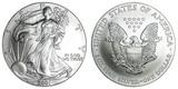 2001 American Silver Eagle .999 Fine Silver Dollar Coin