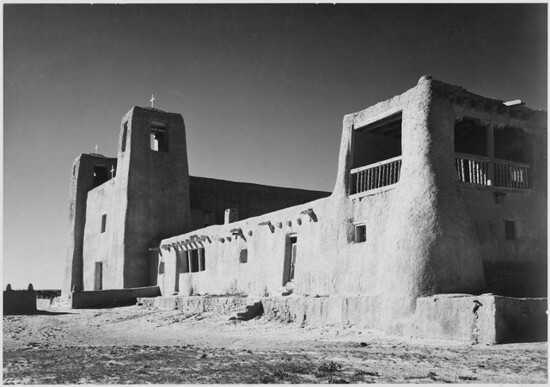 Adams - Church, Acoma Pueblo