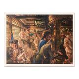 Yankees Tavern 1776 by Virginia Dan (1922-2014)
