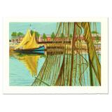 Sailboat by Marcel Salinas (1913-2010)