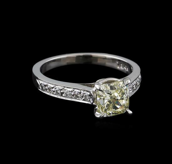1.77 ctw Diamond Ring - 14KT White Gold